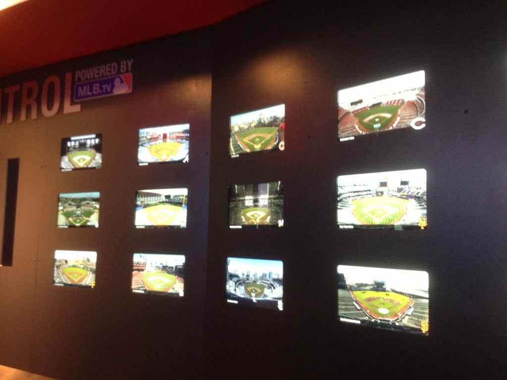 MLB Fan Cave Control Board - Views from Every MLB Stadium