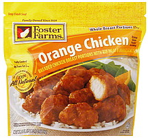 Foster Farms Orange Chicken