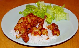 Orange Chicken Dinner