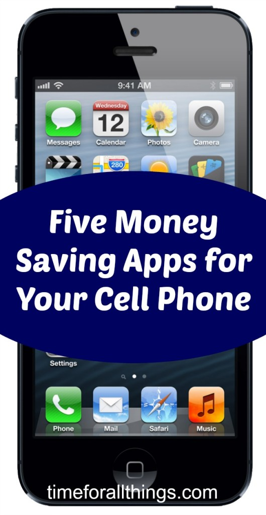 5 Money Saving Apps for Your Cell Phone