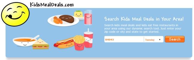 Kids Meal Deals